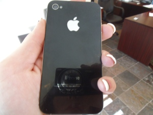 New Fixed Back Glass iPhone 4