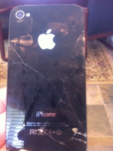 iphone 4 rear cracked cover